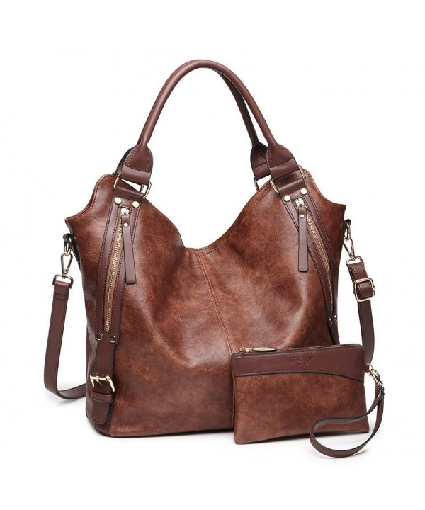 Handbags Leather Capacity Shoulder Adjustable