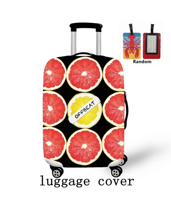 Spandex suitcase Luggage Elastic Cartoon