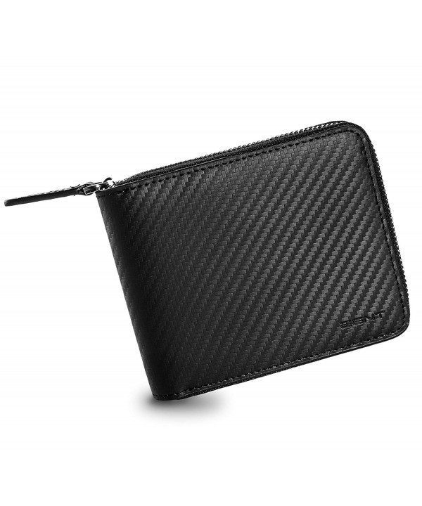 EGNT Carbon Around Wallet Window