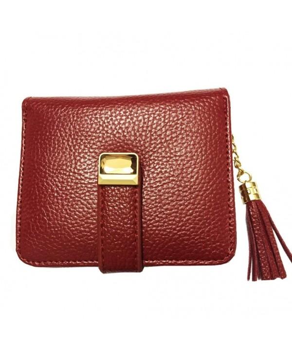HLBag Zipper Leather Wallet Tassels