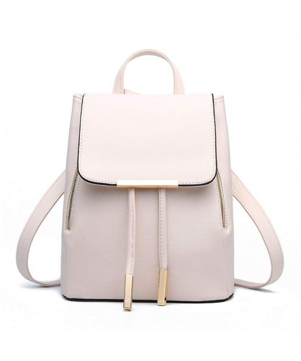 Pahajim Fashion leather backpack Schoolbag