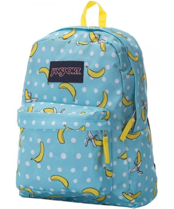 JanSport Unisex SuperBreak Topaz Bananas