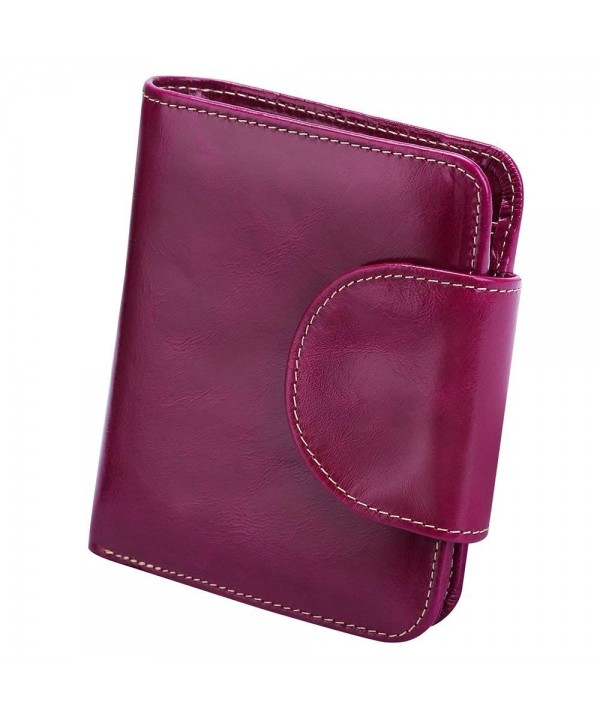 S ZONE Genuine Leather Tri Fold Organizer