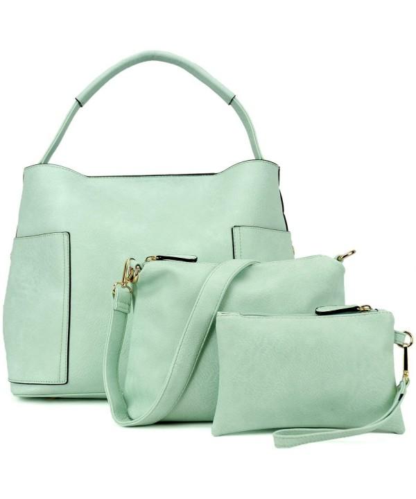 Leather Handbags Designer Shoulder Handle
