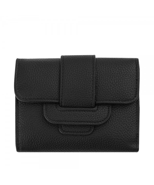 Nico Louise Leather Tri fold Holders