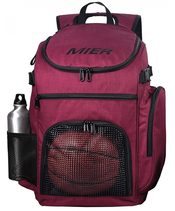 MIER Basketball Backpack Compartment Volleyball