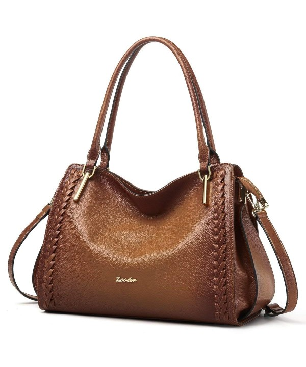 ZOOLER Leather Handbags Shoulder Satchel