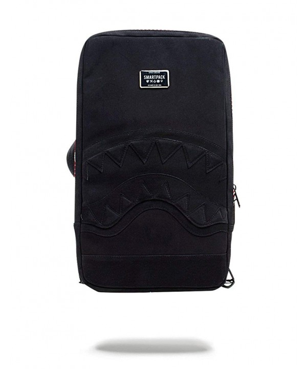 Sprayground Black Suede Shark Smart
