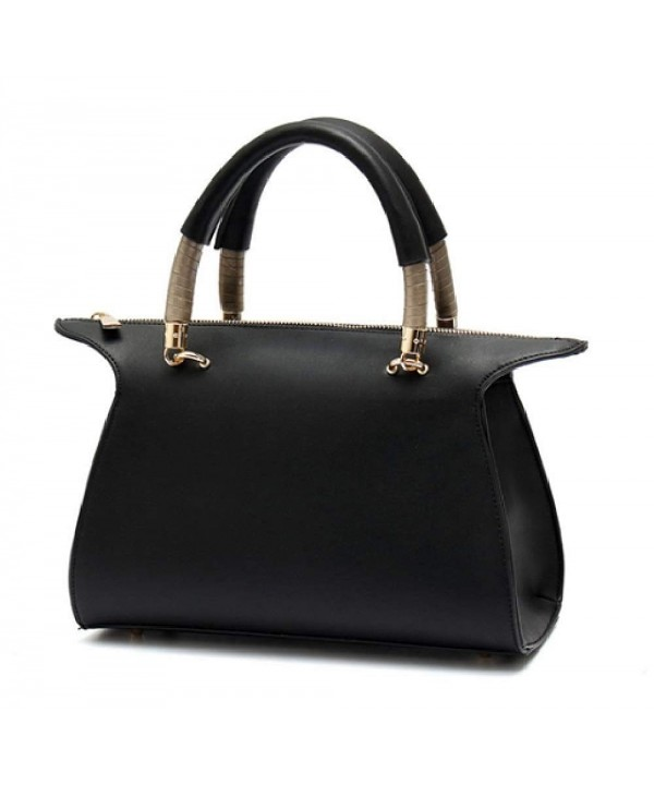 Modern Classic Structured Handle Satchel