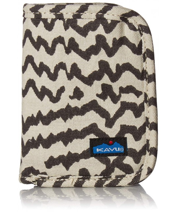 KAVU Zippy Wallet Natural Beats