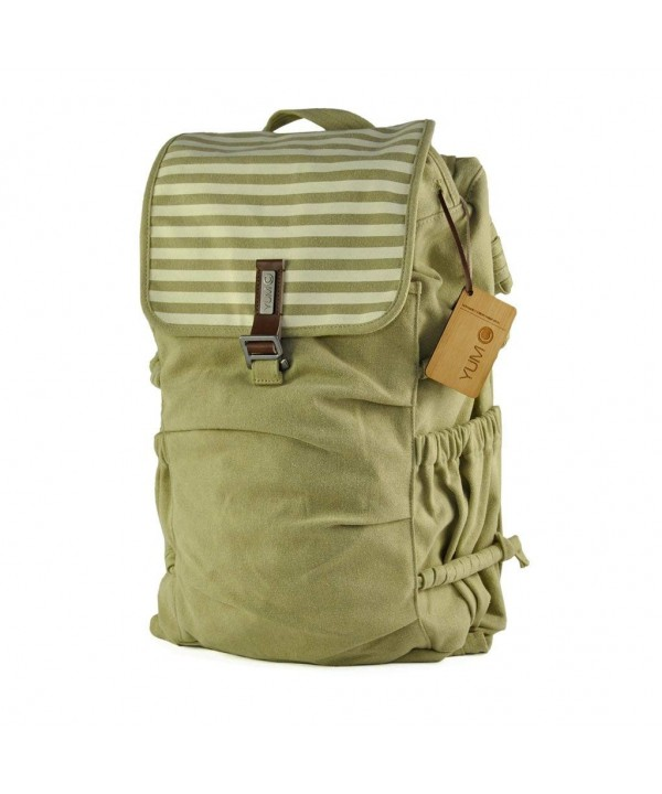 YUMC Melrose Canvas Backpack Mustard