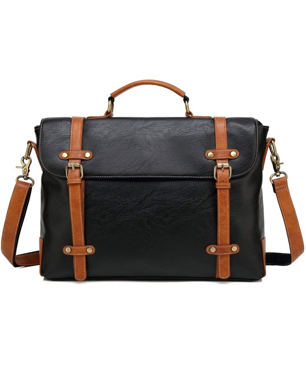 Kenox Vintage Briefcase Messenger Shoulder