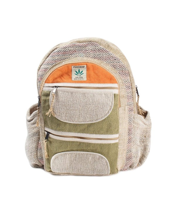 Maha Bodhi Natural Handmade Backpack