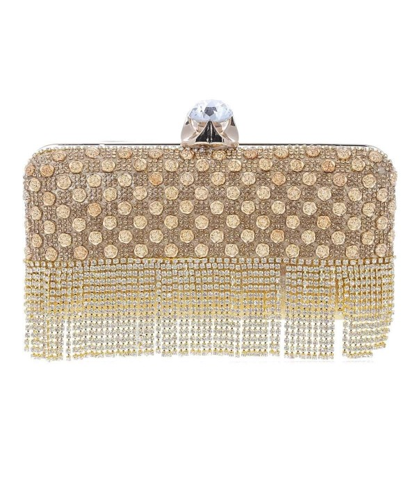 Damara Womens Crystal Hardcase Evening