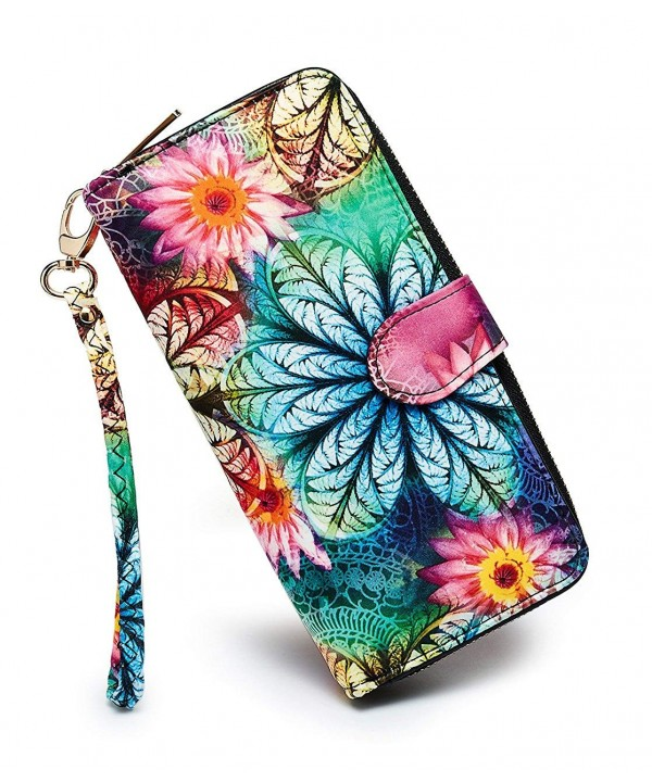 LOVESHE Womens Bohemian Clutch Holder