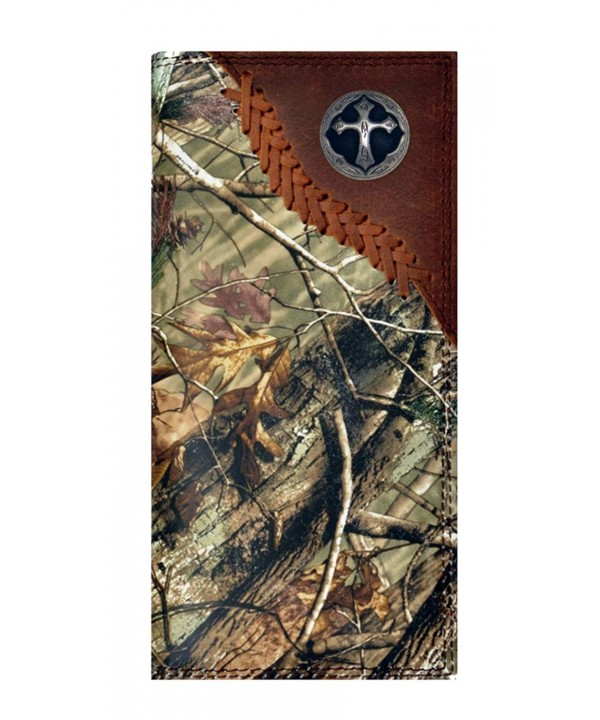 Custom Badger Ornate Checkbook Realtree