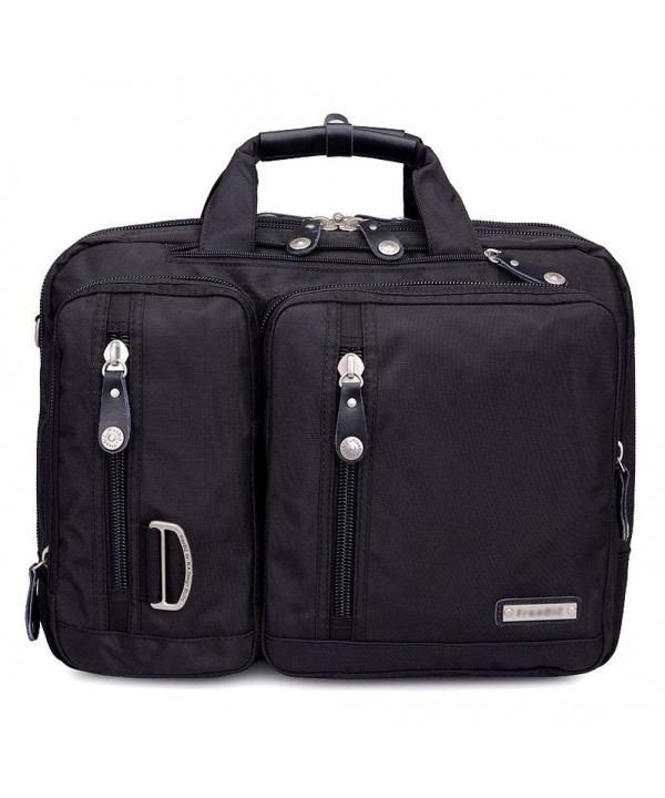 Bonvince Multi function Briefcase Backpack Shoulder