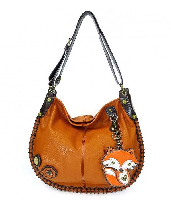 Handbag Charming Crossbody Orange leathe
