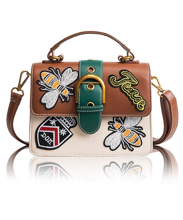 Beatfull Embroidery Shoulder Crossbody Handbag