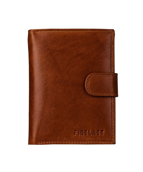 Finelaer Premium Leather Trifold Wallet
