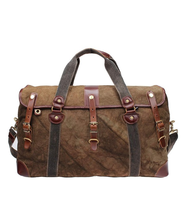 Overnight Leather Weekend 213178 brown