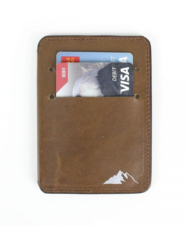 Leather Pocket Wallet Rugged Material