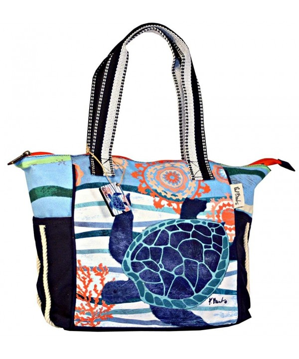 Seaside Treasures Blue Turtle Shoulder