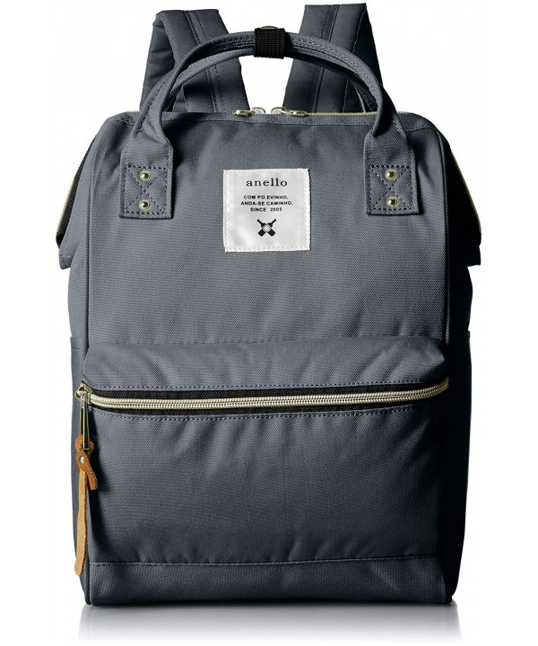 anello AT B0197B backpack pockets Charcoal