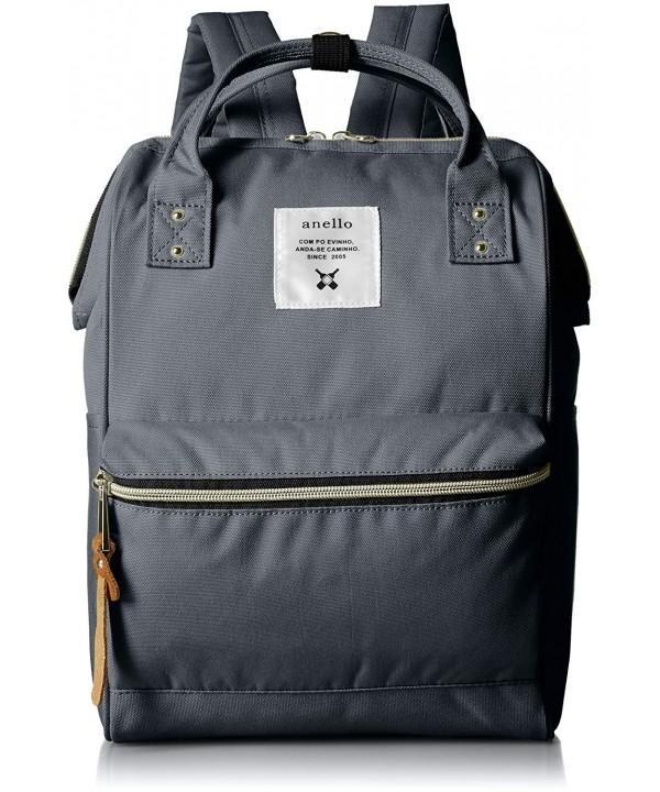 anello AT B0197B backpack pockets Charcoal