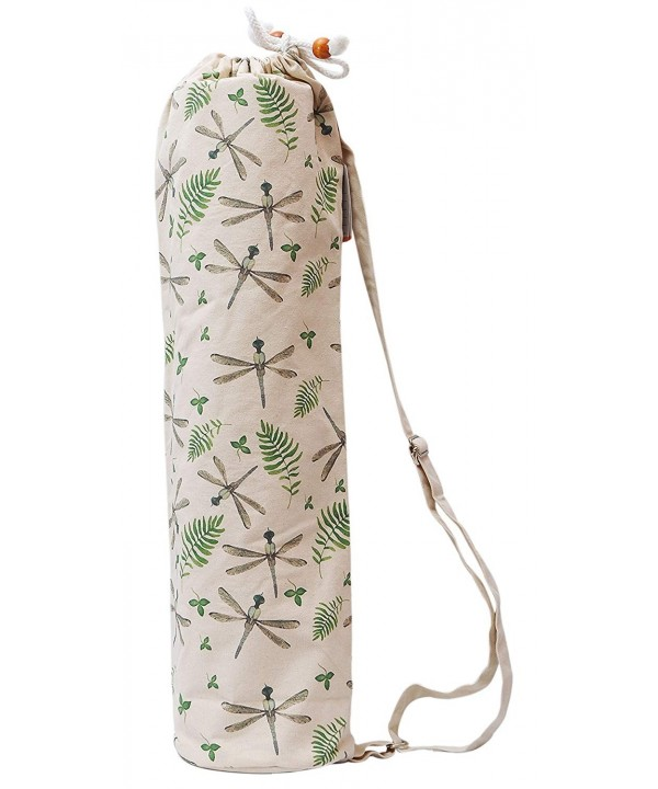 Watercolor Dragonfly Pattern Printed Carriers