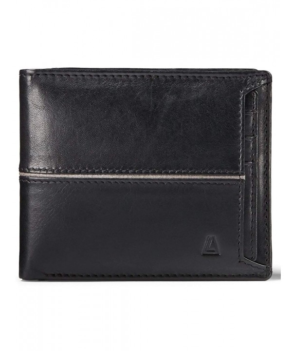 LEATHER ARCHITECT Leather Removable holder Black