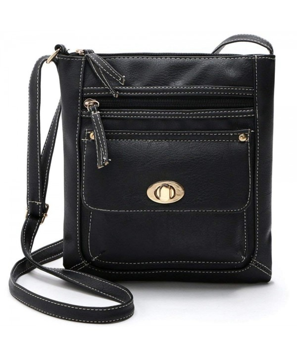 Duketea Pockets Crossbody Crossover Shoulder