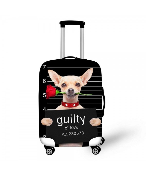 DESIGNS Fashion Chihuahua Suitcase Protective