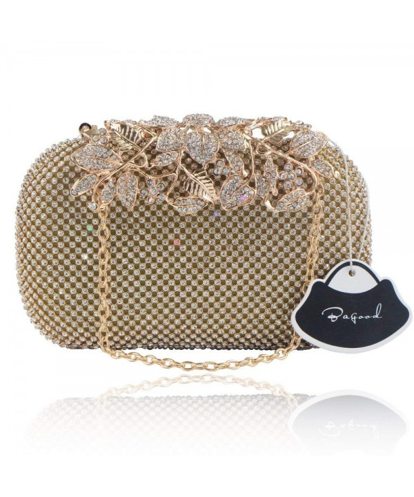 Bagood Shining Rhinestones Clutches Handbags