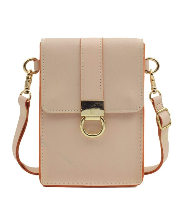 Synthetic Leather Crossbody Cellphone Shoulder