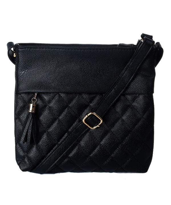 ASHLIE ROSE Adjustable Crossbody Midnight