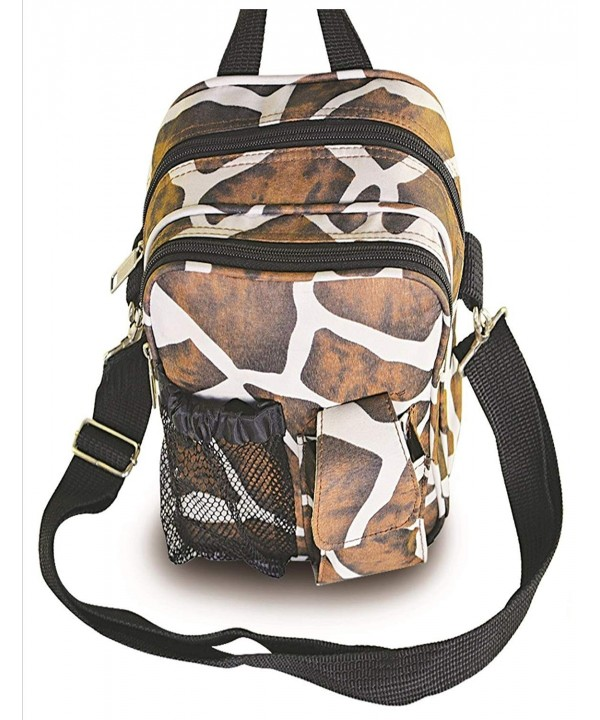 Giraffe Outdoor Adventure Daypack Shoulder