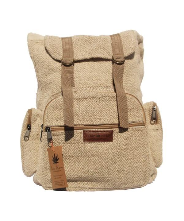 Core Hemp Backpack Rucksack Multipurpose