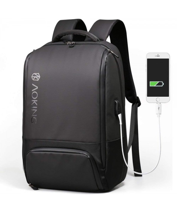 Aoking Backpack Charging Rucksack Waterproof