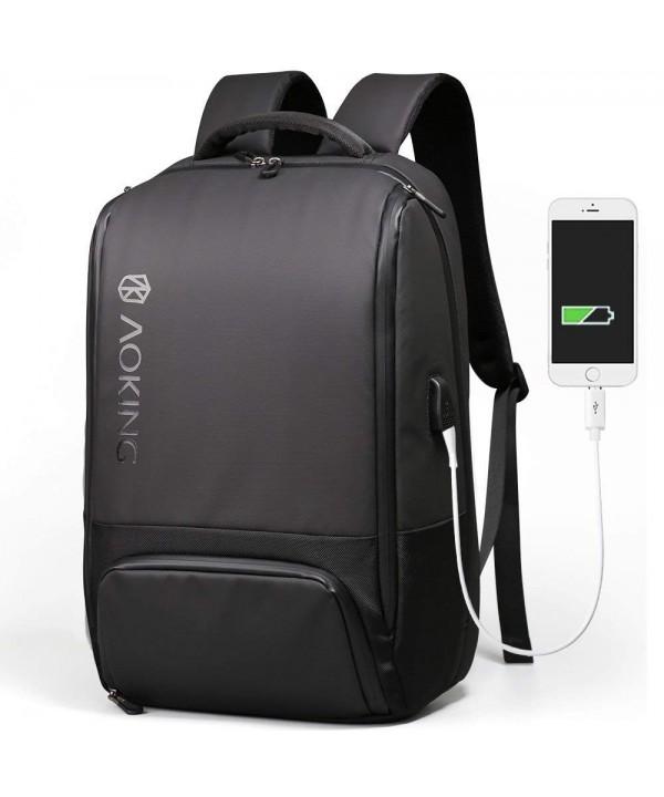 Aoking Backpack Charging Rucksack Waterproof