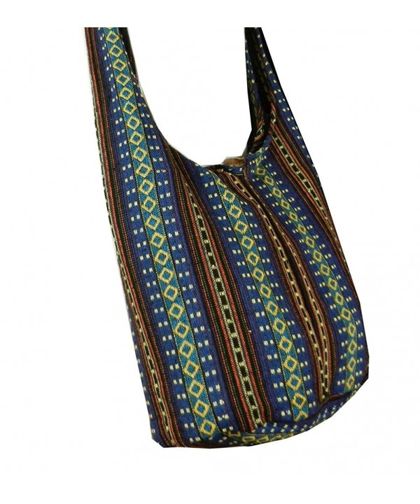 Cotton Sling Purse Messenger Hippie
