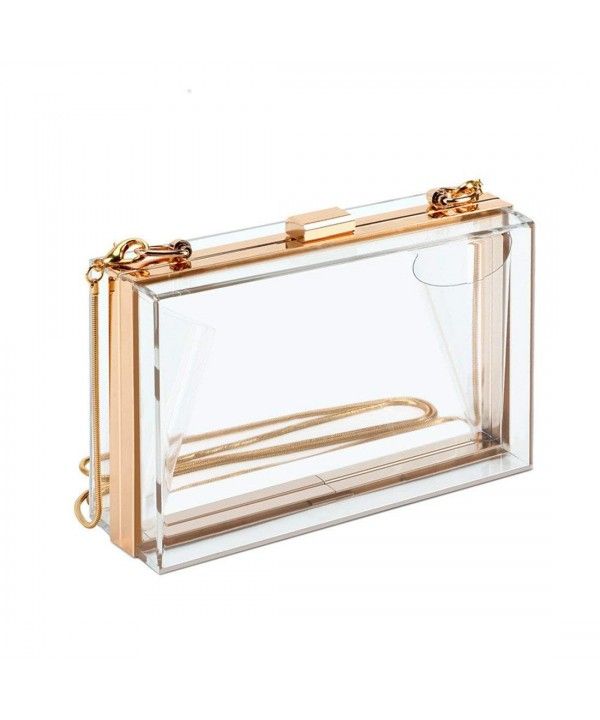 Transparent Acrylic Crossbody Evening Shoulder