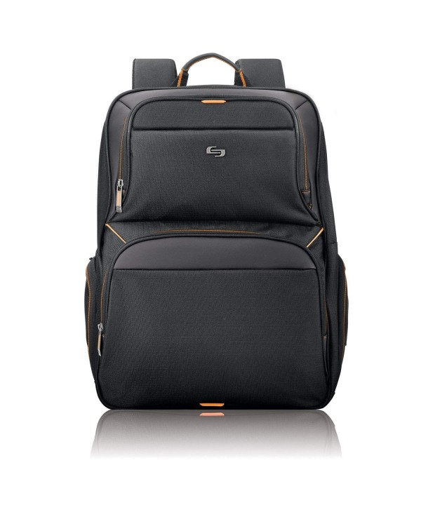Solo Thrive Laptop Backpack Black
