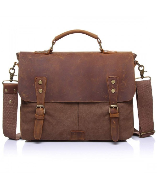 ONEB Messenger Briefcase Shoulder Detchable