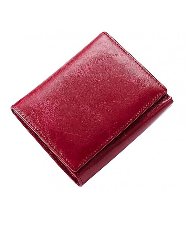 ETIAL Womens Leather Trifold Holder