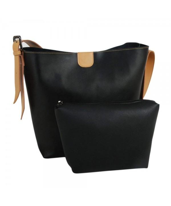 AGLAIA Adjustable Leather Shoulder Handbag