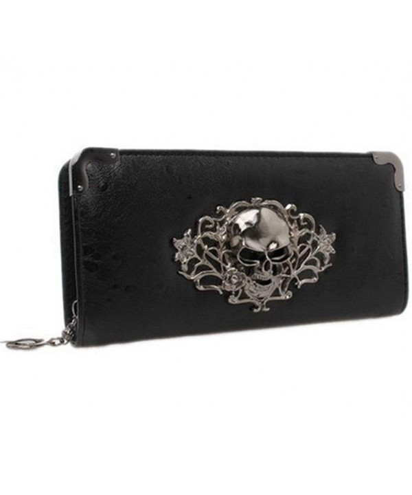 Hengsong Vintage Leather Zipper Clutch