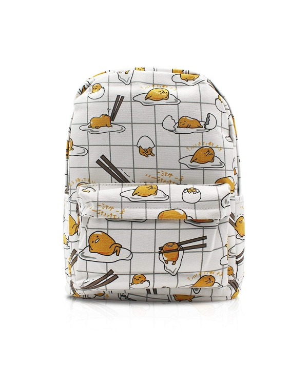 Finex Gudetama Backpack storage compartment
