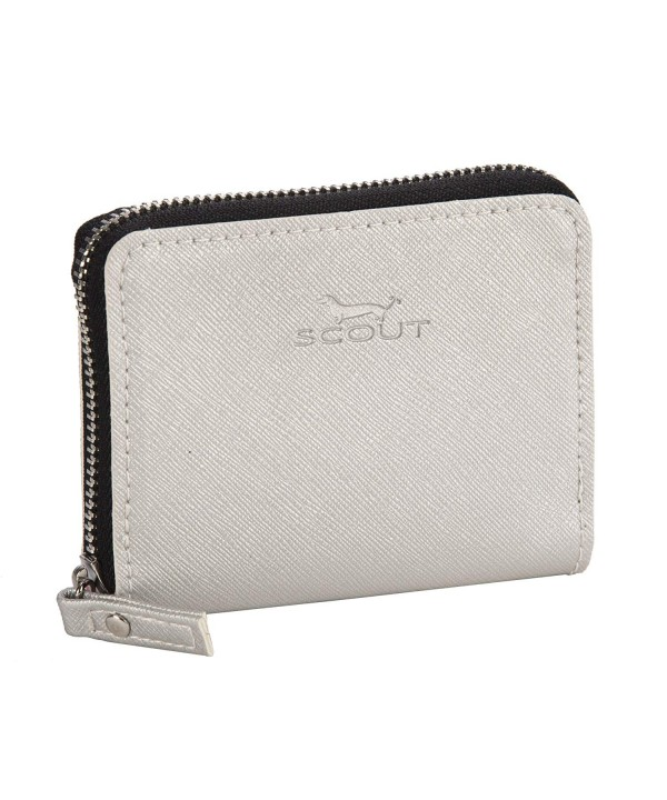SCOUT Pocket Textured Leather Compartments