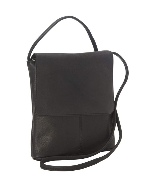 Royce Leather Vaquetta Small Crossbody